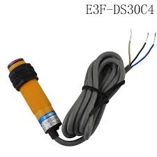 E3F-DS30C4 optoelectronic switch photoelectric sensor NPN Three ...