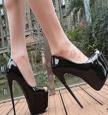 <b>Fashion Women</b> Stiletto Platform <b>high</b> Sexy <b>Super High</b> Heel Pull On ...