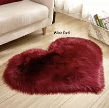 <b>Rectangle</b> 100% Animal Free <b>Soft</b> Faux Sheepskin Fur Area Rugs ...