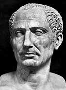 Julius Caesar was born in Rome on 12 or 13 July 100 BC into the prestigious Julian clan. - caesar_julius