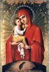 Раскраски икона божьей матери