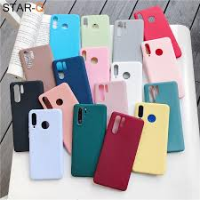 <b>candy color silicone</b> phone case for huawei p30 lite pro p20 lite p10 ...