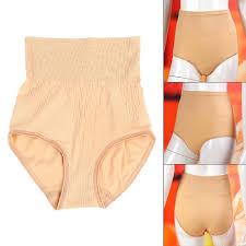 women high waist trainer firm tummy control body shaper seamless underwear thong butt lifter shapewear slimming pantiies