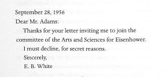what are some polite excuses to give when declining an invitation Declining A Wedding Invitation a photo from @lettersofnote declining a wedding invitation etiquette