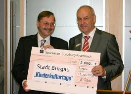 Bürgermeister Konrad Barm und Vorstandmitglied Helmut Traut bei ... - 204585_web