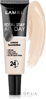 Lamel <b>Professional</b> Total Stay All Day Cream <b>Foundation</b> - Матовий ...