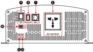 EPever USB port <b>24V</b>/<b>48V</b> DC Transfer to <b>110V</b>/<b>220V</b> AC 2000W ...