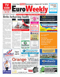 Euro Weekly News - Costa Blanca North 20 - 26 June 2019 Issue ...