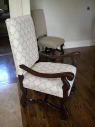 Reupholstering Dining Room Chairs Reupholster Dining Chair Chair Design And Ideas