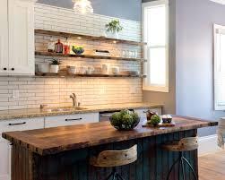rustic stile open kitchen