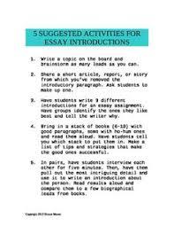 examples of a argumentative essay