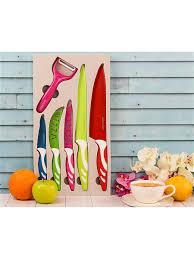 <b>Набор ножей</b> 6 <b>предметов</b> нон стик MAYER&BOCH 5818785 в ...