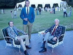 get ready to say goodbye to mad men with new final season photos the huffington post art roger sterling office