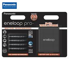 <b>Аккумуляторы Panasonic</b> eneloop pro (<b>AAA</b>) BK-4HCDEC4BE + ...