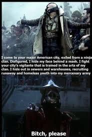 From Dark Knight Bane Quotes. QuotesGram via Relatably.com