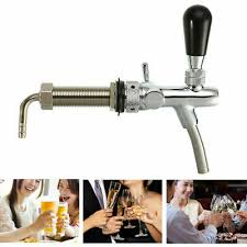 Adjustable <b>4 Inch Draft Beer</b> Faucet G5/8 Tap Tower Flow Controller ...