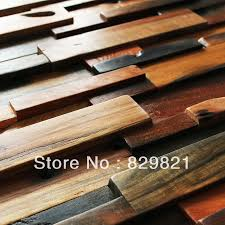 DHL <b>FreeShipping High Quality</b> Wood Mosaics 3D Wall Panel ...