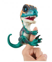 <b>Игрушка интерактивная WowWee динозавр</b> Фури Fingerlings ...