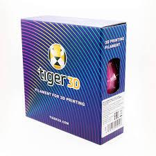 Катушка <b>ABS</b>-<b>пластика</b> Tiger3D, 1.75 мм, 1 кг, <b>оранжевая</b>