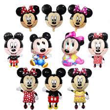 <b>1pc</b> Big <b>Mickey Minnie</b> Balloon Happy Birthday Party Decoration ...