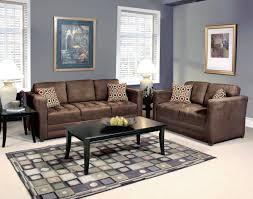Upholstery Living Room Furniture Serta Upholstery Sienna Chocolate Sofa Loveseat Furniture
