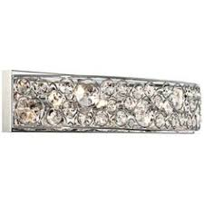 decor chrome bathroom light fixtures edison: possini euro chrome and crystal bathroom light fixture one of these for the bathroom please