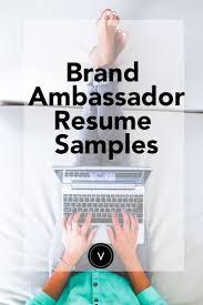 best images about landing your dream job resume help and brand ambassador resume sample