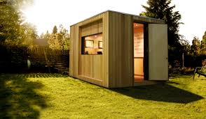 incredible prefab home office to build in your backyard excellent cube shaped prefab home office backyard home office build