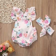 <b>2018</b> New Fashion Summer Baby Girls Clothing <b>Cute</b> Girls <b>Floral</b> ...