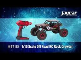 1:10 Scale <b>off</b>-<b>Road Remote Control</b> Rock Crawler (GT4189 ...