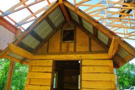 i log cabin tiny house boulder tiny house front