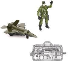 <b>Игровой</b> набор <b>Наша Игрушка</b> Военный самолет, <b>фигурка</b> 9см ...