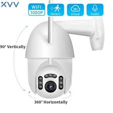 <b>1080P HD</b> IP Camera 360° PTZ WiFi Dome <b>Webcam</b> V380 APP ...