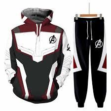 Avengers <b>Endgame</b> Quantum <b>Realm</b> Sweatshirt Jacket Advanced ...