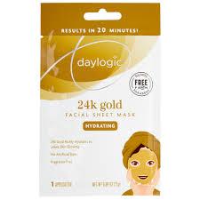 Daylogic <b>24K Gold Facial Sheet</b> Mask - 1 ct