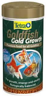 Сухой <b>корм</b> для рыб <b>Tetra Goldfish</b> gold growth — купить по ...