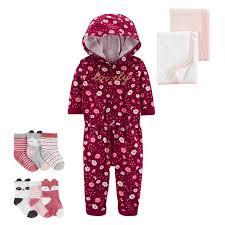 <b>Floral Hooded</b> Jumpsuit | carters.com