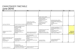 exam prayer timetable scgh yg blog exam prayer timetable