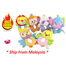 RESTOCK - <b>Baby Toy</b> - <b>Happy Monkey</b> Rattle Series   Shopee ...