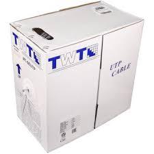 <b>Кабель LANMASTER</b> UTP кат. 6 Белый <b>305 м</b>, <b>TWT</b>-<b>6UTP</b>-LSZH