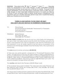 ksfg scm day written notice day termination of pay rent or quit