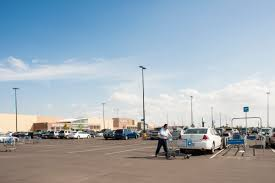 walmart transcends the dumb box just not in houston blog east end walmart parking lot photo paul hester