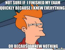 Exams Make Me Nervous by blackstar783 - Meme Center via Relatably.com