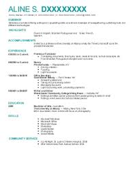 journalism resume examples   entertainment and media resumes    aline d    journalism resume   shelton  connecticut