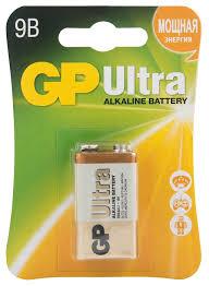 <b>Батарейка GP Ultra</b> Alkaline 1604AU 6LR61 1604AU купить в ...