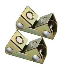 <b>2Pcs</b> YIZAN Magnetic V-Type Clamps V-Shaped Magnetic Welding ...