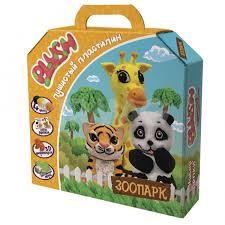 <b>Набор для лепки Plush</b> Пушистый пластилин Зоопарк - IRMAG.RU