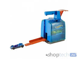 Трек Mattel <b>Hot Wheels</b> Track Builder Display <b>Launcher</b> GCF92 за ...