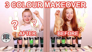 Twin Telepathy <b>3 Color</b> Paint & Marker Makeover Challenge *Cheap ...