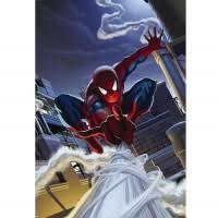<b>Фотообои</b> бумажные Komar <b>Spider</b>-<b>Man Rooftop</b> 1-424 1,27x1,84 м